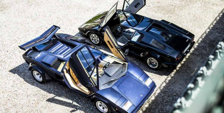 El legado del Lamborghini Countach: Desde el coche ideal, el LP 500 de 1971, hasta cinco generaciones que abarcan diecisiete años