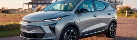 Chevrolet Bolt EUV 2022: Ya está aquí